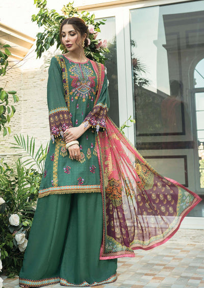 R613 - Unstitched - Florence Winter Collection by Rang Rasiya 2020 - Memsaab Online