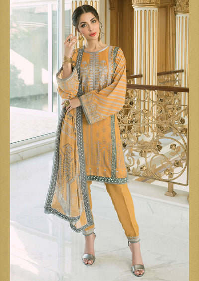R615 - Unstitched - Florence Winter Collection by Rang Rasiya 2020 - Memsaab Online