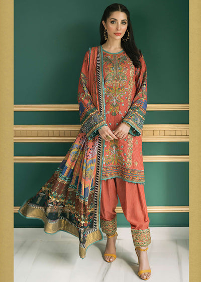 R618 - Unstitched - Florence Winter Collection by Rang Rasiya 2020 - Memsaab Online