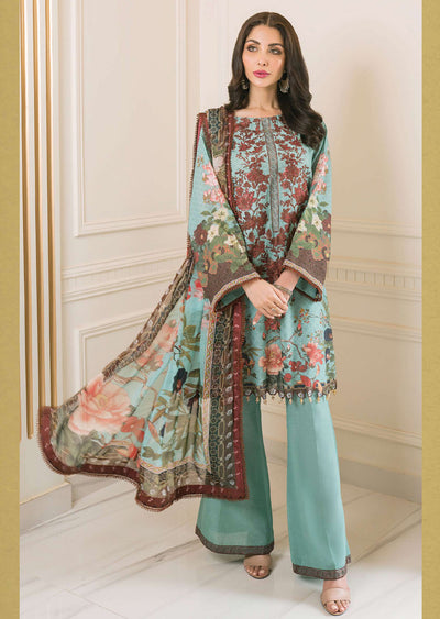 R619 - Unstitched - Florence Winter Collection by Rang Rasiya 2020 - Memsaab Online