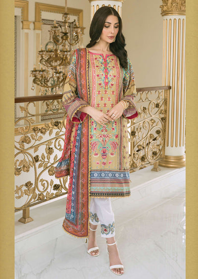 R620 - Unstitched - Florence Winter Collection by Rang Rasiya 2020 - Memsaab Online
