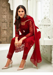 63001 Mohini Glamour Vol 63 - Net Pakistani Style Kameez Suits with Handwork - Memsaab Online