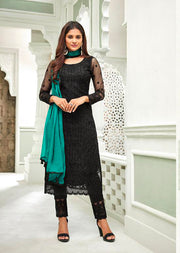 63004 Mohini Glamour Vol 63 - Net Pakistani Style Kameez Suits with Handwork - Memsaab Online