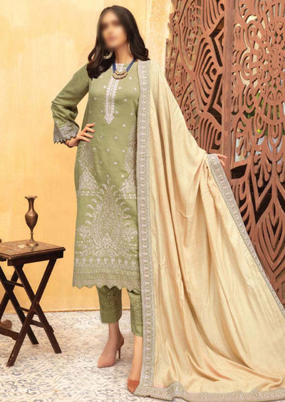JH-646 Unstitched Riwaj Winter Coll' by Johra - Memsaab Online