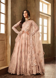 6701 The Enchantress Peach - Aafreen - Memsaab Online
