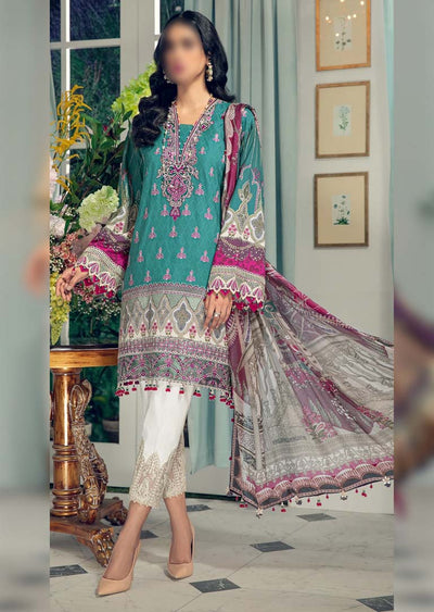 AL21-06-A - JULIANA - Unstitched - Anaya L'Amour De Vie Collection by Kiran Chaudhry - Memsaab Online
