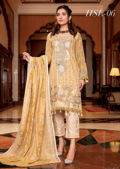 MAL06 - Readymade - Haniya Designer Collection by Munira 2020 - Memsaab Online