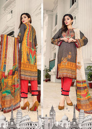 NS06 - Unstitched - Nishat Maysoori Embroidered Collection Vol 1 - Memsaab Online