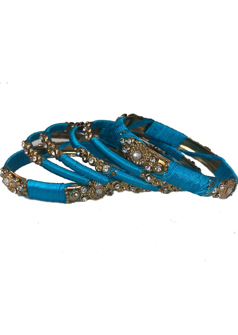 B885 - F - Thread bangles Set - Memsaab Online