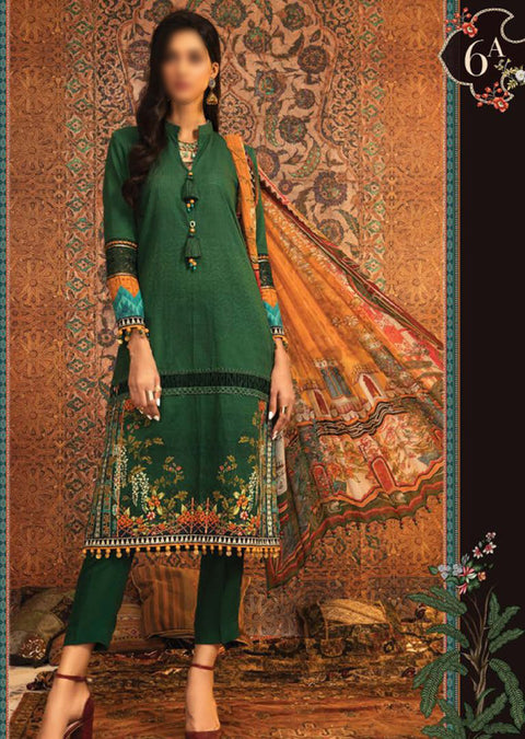 MPT-906-A - Unstitched - Maria B M.Prints Winter Collection 2020 - Memsaab Online