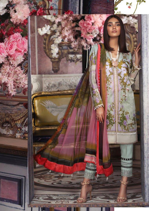 6A Sana Safinaz Muzlin Vol 2 2019 Pakistani Designer Lawn Embroidered Collection UK & Worldwide DELIVERY - Memsaab Online