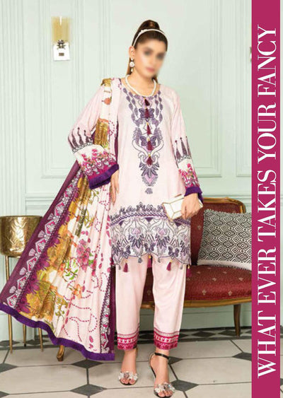 SLM06 - Readymade - Munira Designer Digital Print Collection 2020 - Memsaab Online