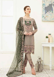 F1906 - Unstitched Ramsha Luxury Chiffon Collection Vol 19 - Memsaab Online