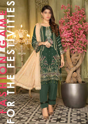 MYL-06 - Readymade Designer Chiffon Collection by Munira 2020 - Memsaab Online