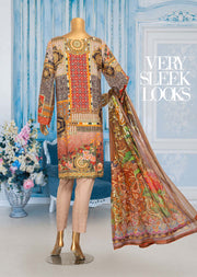 JUR06 Unstitched - Urwa - Viscose Suit by Javed Arts - Memsaab Online