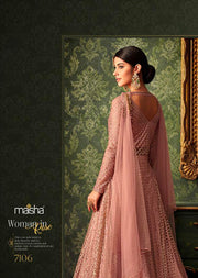 7106 Maisha Queen of Hearts - Indian Party wear Dress Collection - Memsaab Online