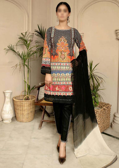CK-715 - Readymade - Mona Summer Pret Collection by Ally's - Memsaab Online