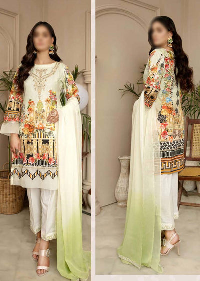 CK-716 - Readymade - Mona Summer Pret Collection by Ally's - Memsaab Online