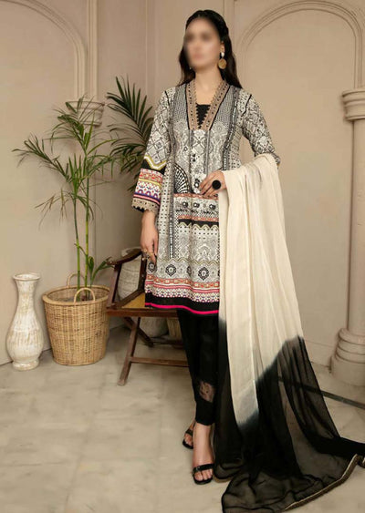 CK-717 - Readymade - Mona Summer Pret Collection by Ally's - Memsaab Online