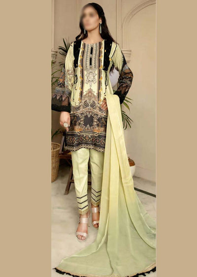 CK-718 - Readymade - Mona Summer Pret Collection by Ally's - Memsaab Online