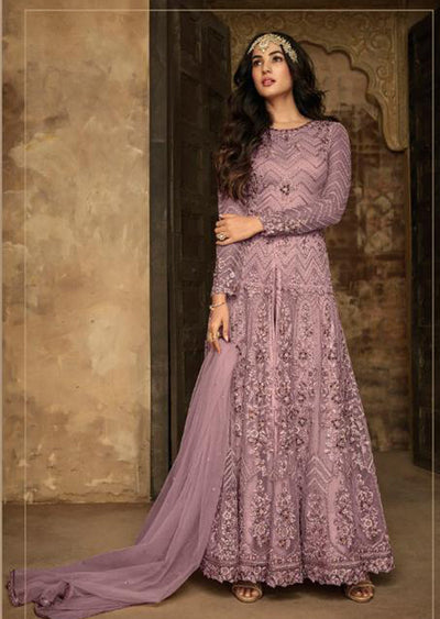 7207 - E - Maisha INSPIRED / REPLICA Aafreen Vol 2 - Unstitched - Indian Partywear Dress Collection - Memsaab Online