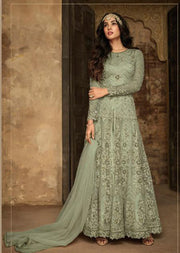 7207 - C - Maisha INSPIRED / REPLICA Aafreen Vol 2 - Unstitched - Indian Partywear Dress Collection - Memsaab Online