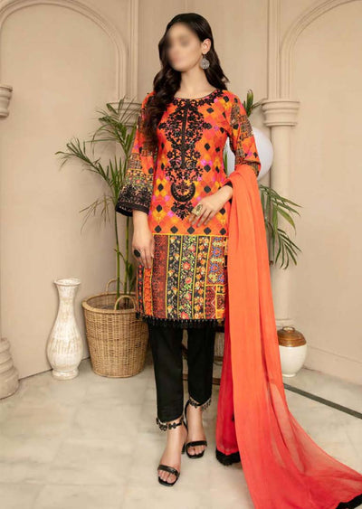 CK-722 - Readymade - Mona Summer Pret Collection by Ally's - Memsaab Online