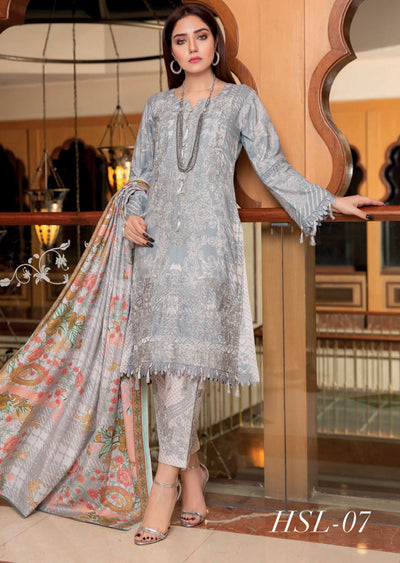 MAL07 - Readymade - Haniya Designer Collection by Munira 2020 - Memsaab Online