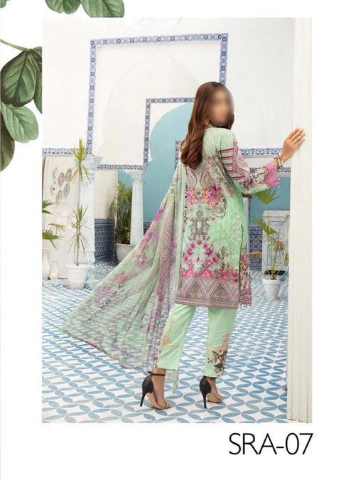 MD-07 - Readymade - Festive Lawn Collection by Simrans Vol 2 - Memsaab Online