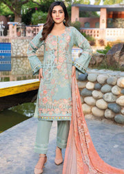 MSSL07 - Readymade - Munira Digital Airjet Lawn Collection 2020 - Memsaab Online