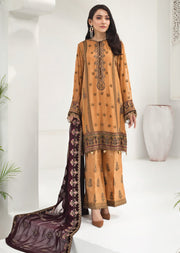 ALZ07 - Royal Amber - Unstitched - Alizeh Chiffon Collection Vol 1 2020 - Memsaab Online