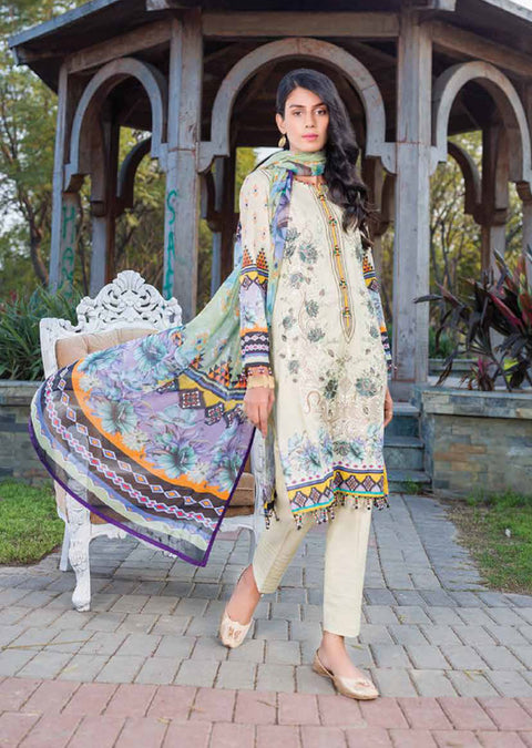 KKS07 - Oyster - Readymade - Kuch Khas Collection by Simran Collection 2020 - Memsaab Online