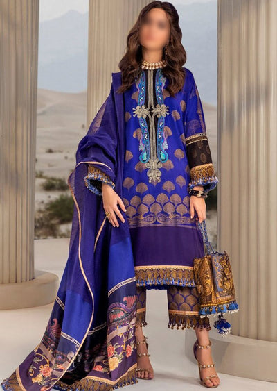 B207-B - Unstitched Kurnool Luxury Collection By Sana Safinaz 2020 - Memsaab Online