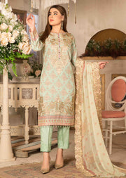 8460-B - Camellia Viscose Prints Unstitched Collection by Tawakkal - Memsaab Online