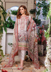 8463 - Tawakkal Cultured Digital Schiflee Unstitched Collection 2020 - Memsaab Online