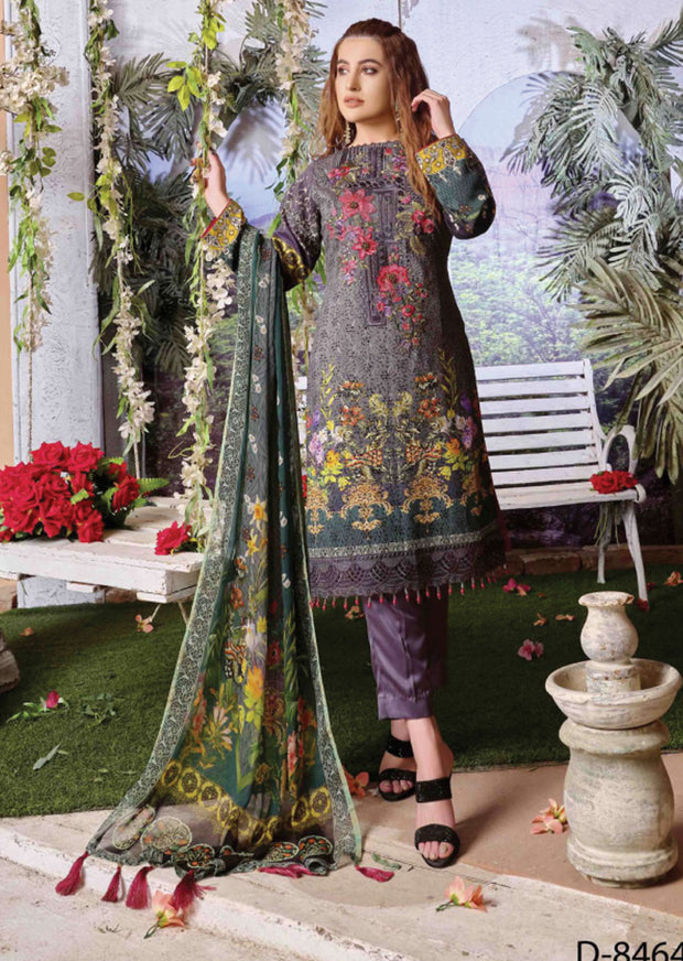 Tawakkal Cultured Digital Schiflee Unstitched Collection 2020 - Memsaab Online