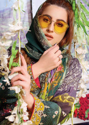 8464 - Tawakkal Cultured Digital Schiflee Unstitched Collection 2020 - Memsaab Online