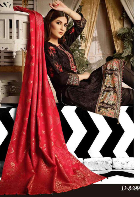 8499 - Tawakkal Exotic Viscose Unstitched Collection 2020 - Memsaab Online