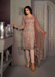 D-8610 - Unstitched - Le Grand Amour Chiffon Collection by Tawakkal 2020 - Memsaab Online