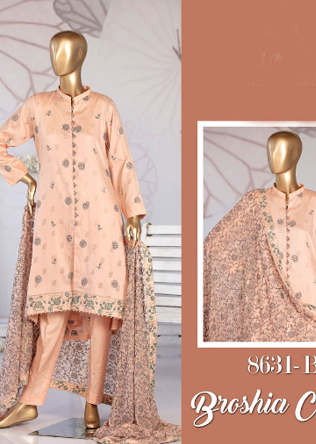8631 - B - Unstitched Amna Sohail Collection By Tawakkal 2020 - Memsaab Online