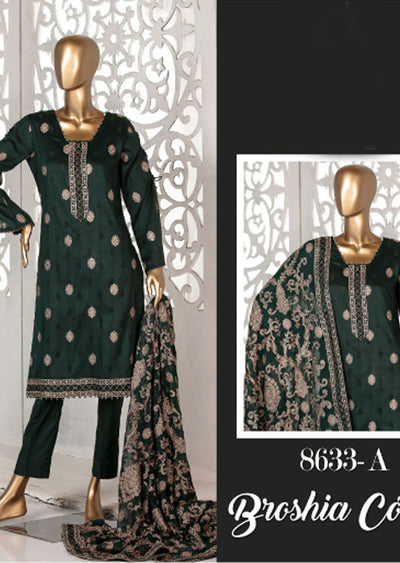 Z 8633 - A - Unstitched Amna Sohail Collection By Tawakkal 2020 - Memsaab Online