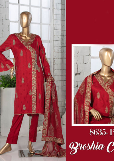 Z 8635 - B - Unstitched Amna Sohail Collection By Tawakkal 2020 - Memsaab Online