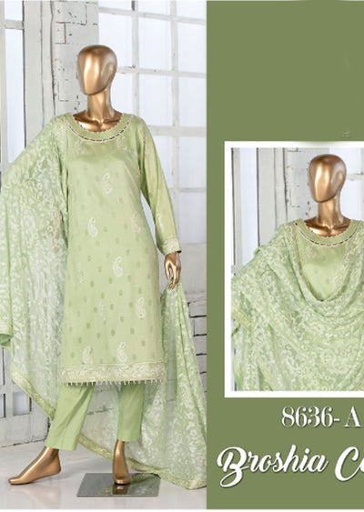 Z 8636 - A - Unstitched Amna Sohail Collection By Tawakkal 2020 - Memsaab Online