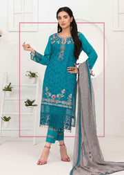 8881- A - Unstitched Chikankari Ophelia Collection by Tawakkal 2020 - Memsaab Online