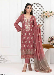 8884 - A - Unstitched Chikankari Ophelia Collection by Tawakkal 2020 - Memsaab Online