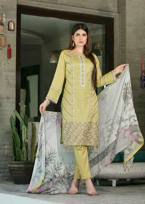 D8948 Unstitched Platial Dreams Collection by Tawakkal 2020 - Memsaab Online