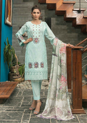 D8950 Unstitched Platial Dreams Collection by Tawakkal 2020 - Memsaab Online