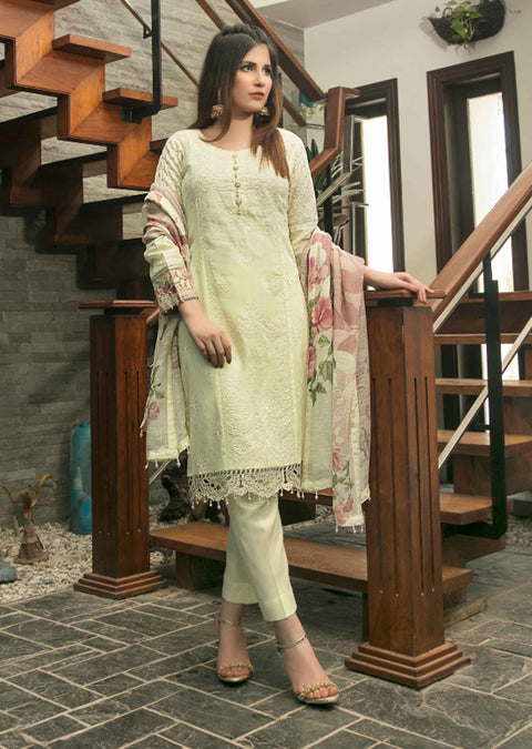 D8954 Unstitched Platial Dreams Collection by Tawakkal 2020 - Memsaab Online