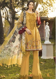 08 A Readymade Maria B Inspired Linen Suit - Memsaab Online