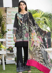 ABE08 - Abiha's by Eshaisha - Unstitched - Premium Lawn Embroidered Collection of 2019 - Pakistani Designerwear - Memsaab Online
